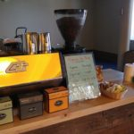 Our coffee cart with added tea service
