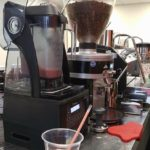 Coffee and smoothies for an office catering