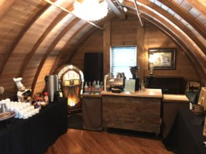 Our coffee bar set up at Green Acres Event Center